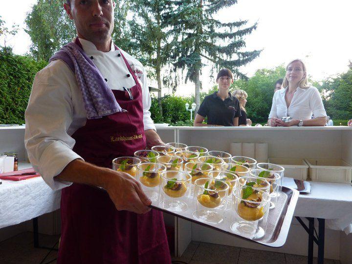Beispiel: Catering vom Profi, Foto: Landhaus Diedert Catering.