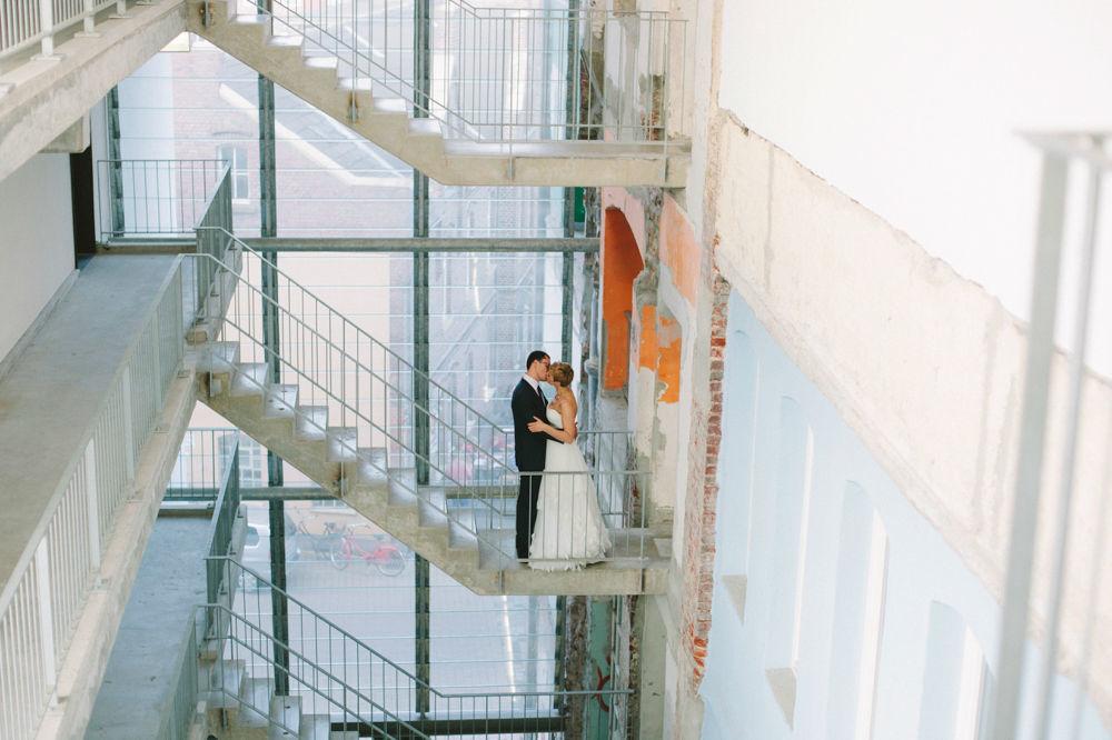 Hochzeit in Münster - Factory Hotel  Foto: Christin Lange