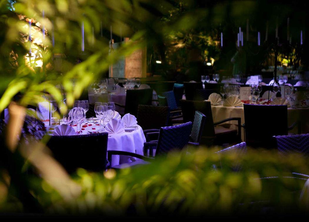 Beispiel: Hochzeitsmenü im Grünen, Foto: Giardino Verde.
