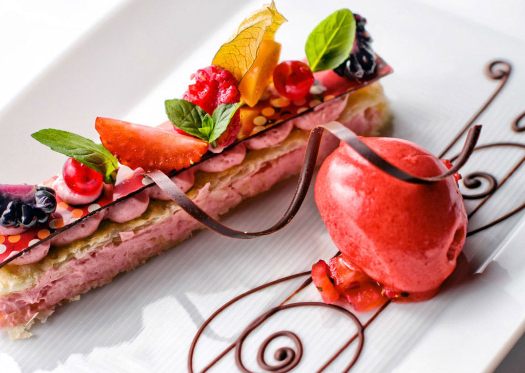 Beispiel: Kulinarische Köstlichkeiten, Foto: Tschuggen Grand Hotel Arosa.