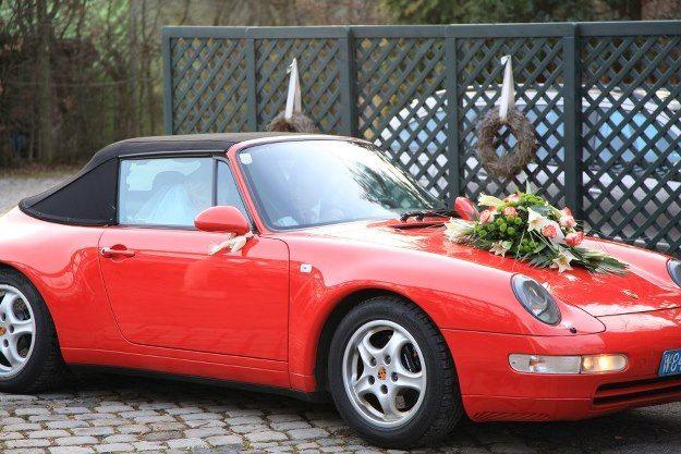 Beispiel: Hochzeitsauto, Foto: Die Alte Gärtnerei.