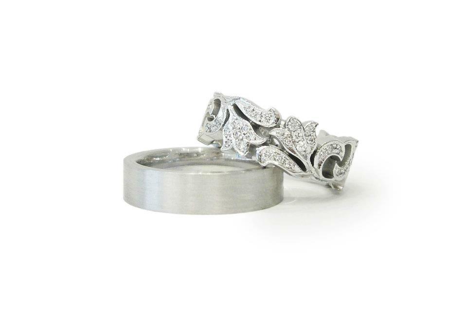 Beispiel: Verlobungsringe, Foto: Schmuck Julia Koenig.