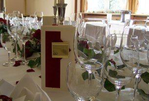 Beispiel: Tischdekoration, Foto: Haus Sanssouci.