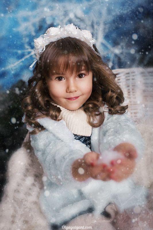 причёска и макияж для маленькой принцессы Алисы *_* фотограф Ольга Галянт