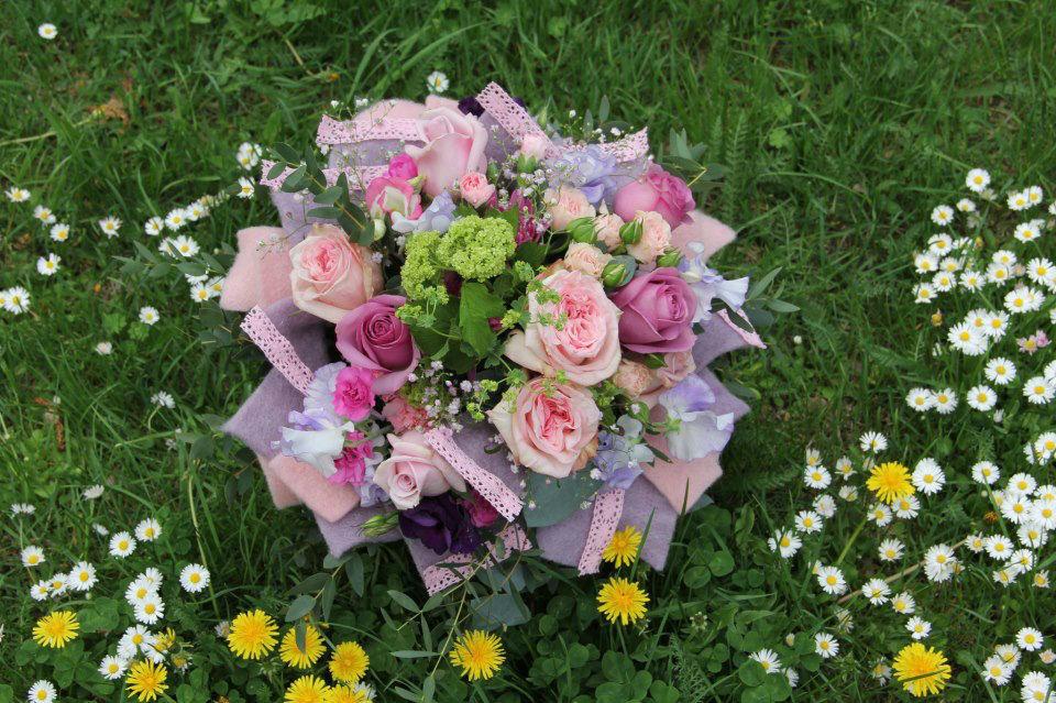 Beispiel: Blumenstrauß, Foto: Blumen Damerius.