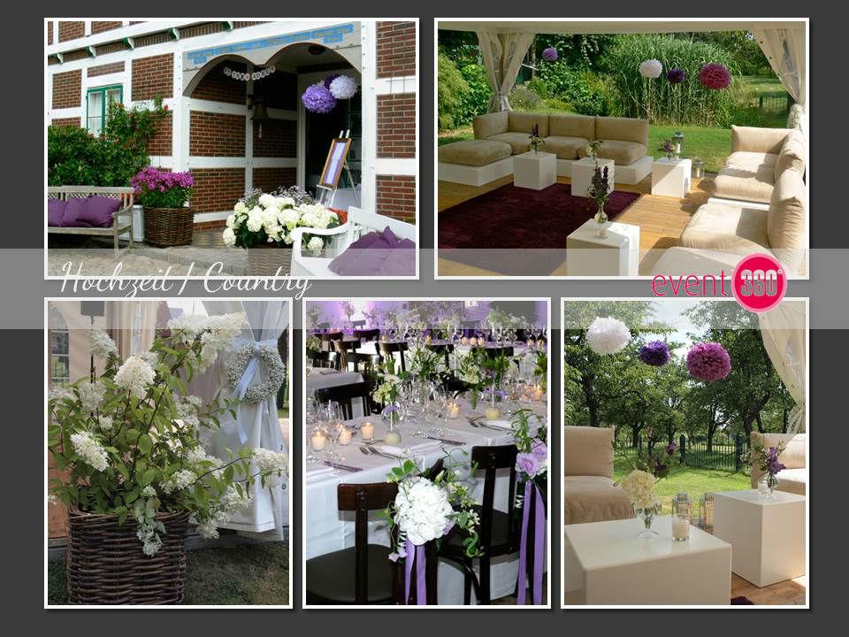 Beispiel: Country Wedding, Foto: event 360°.