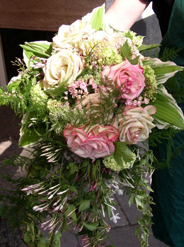 Beispiel: Brautstrauß, Foto: Flower & More.