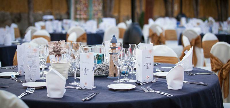 Decoración del Banquete Personalizada