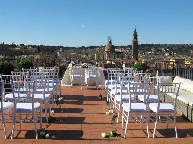 Celebrazione Terrazza Panoramica Arno