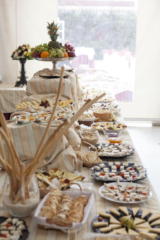 Buffet de quesos. Hacienda Azahares