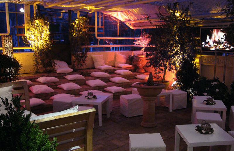Beispiel: Loungebereich zum Entspannen, Foto: Sie Alte Gärtnerei.