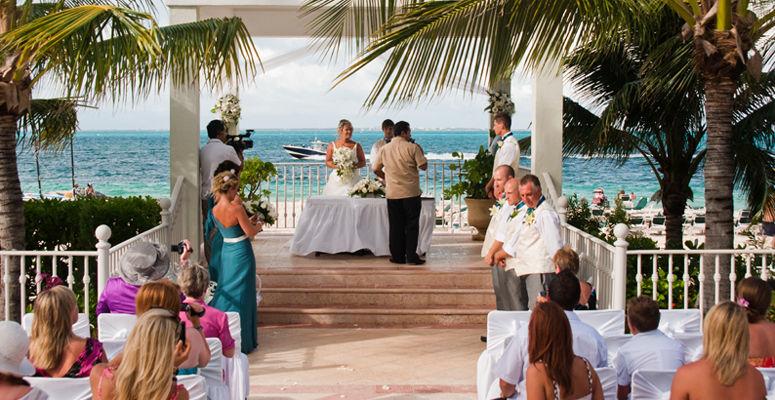 Boda en Cancún en los Hoteles Riu