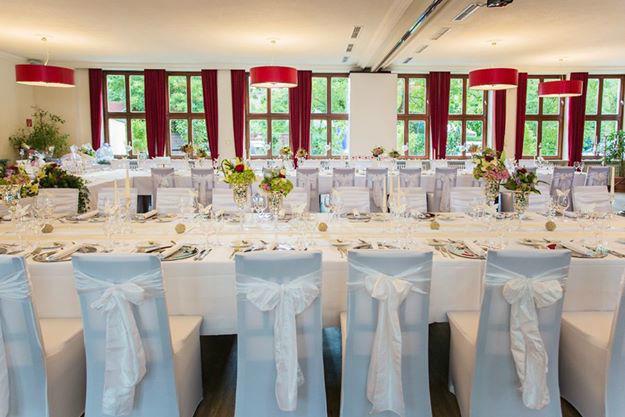 Beispiel: Hochzeitsdekoration, Foto: Weyprechthof.