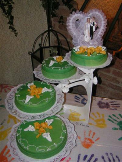 Beispiel: Torten auf mehreren Etagen, Foto: Tortenkunst.