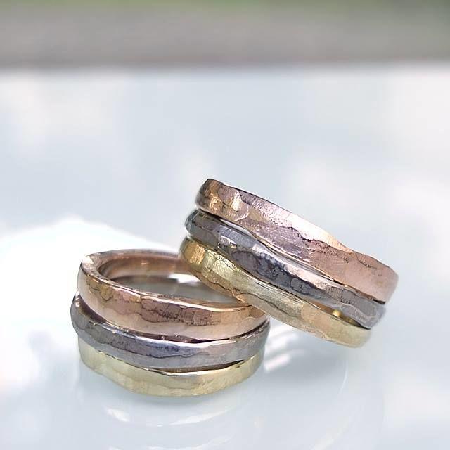 Obrączki z białego, żółtego i różowego złota. http://waszeobraczki.pl/ pytania o cenę proszę kierować na: waszeobraczki@gmail.com