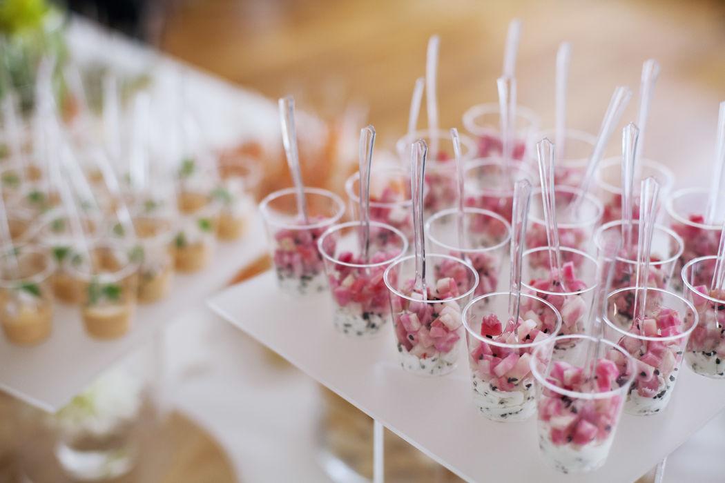 Des plateaux de verrines variées - Dans votre petite cuisine