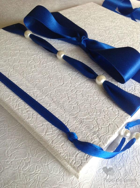 Livro de Honra azul