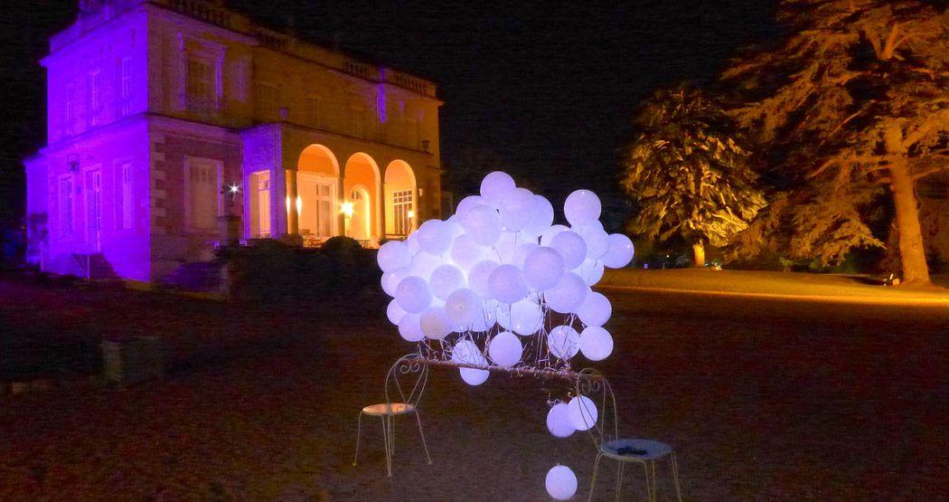 GoodMoon - Villa Emma Nuit Ballons lumineux