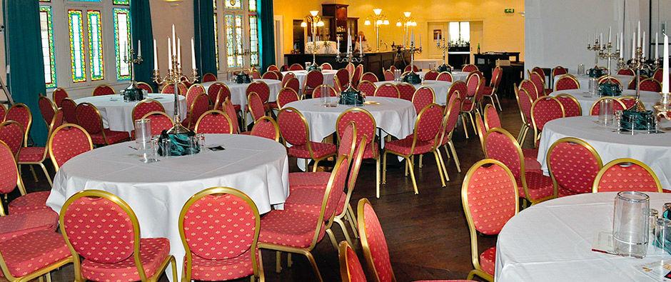 Beispiel: Jugendstilsaal, Foto: Badischer Hof Seckenheim.