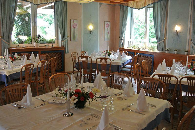 Beispiel: Bankett - Tischdekoration, Foto: Restaurant Prinzenquelle.