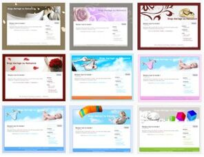 Faire-part en ligne