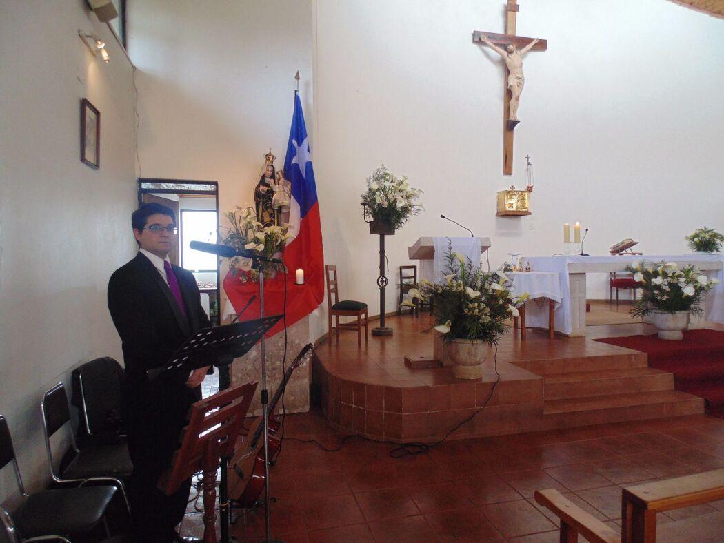 Bodas de Oro, Iglesia de Pencahue. Septiembre de 2015