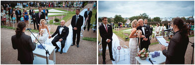 Ślub w plenerze :-)