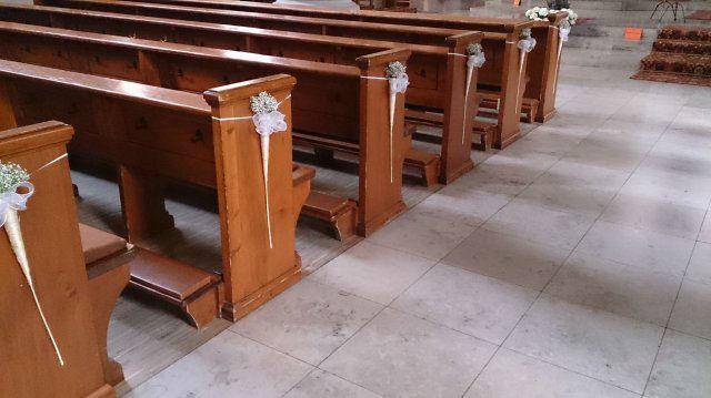 Beispiel: Kirchendekoration, Foto: Die Blume.