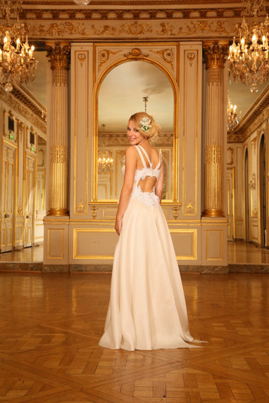 Beaumenay Joannet Paris - robe de mariée romantique