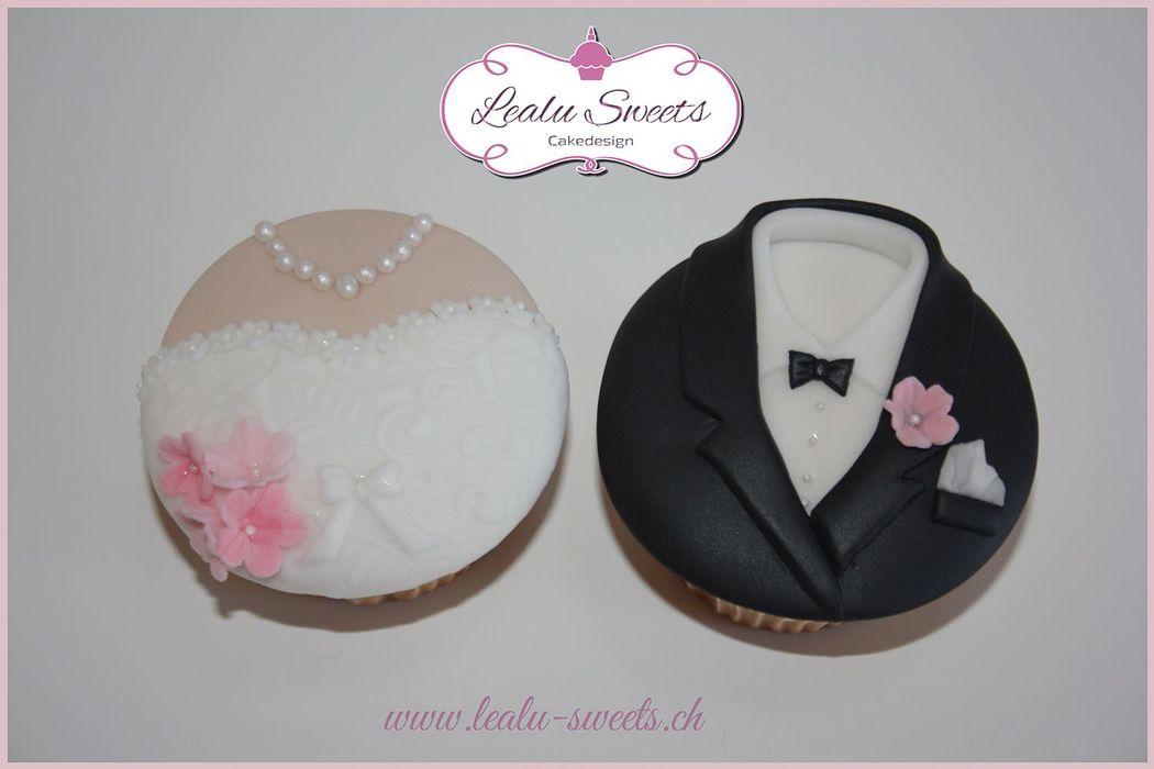 Beispiel: Mr&Mrs Cupcakes, Foto: Lealu Sweets.