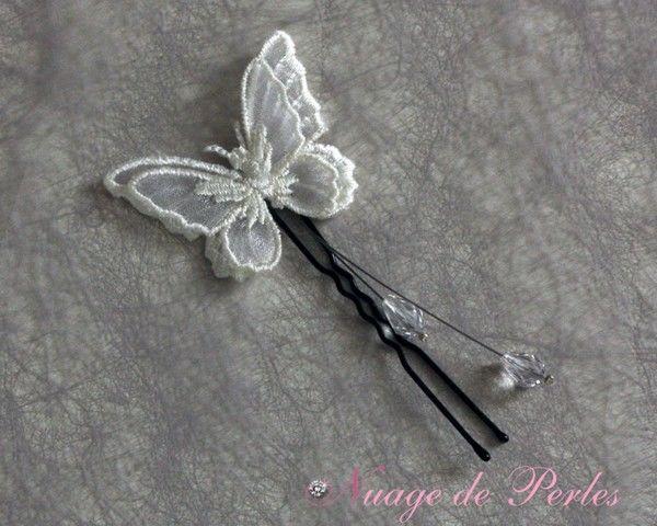 accessoires de coiffure papillon