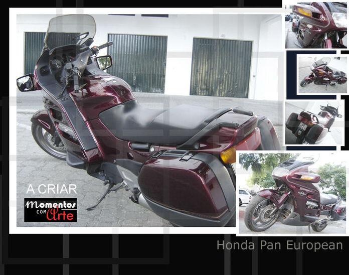 Mota Honda Pan European