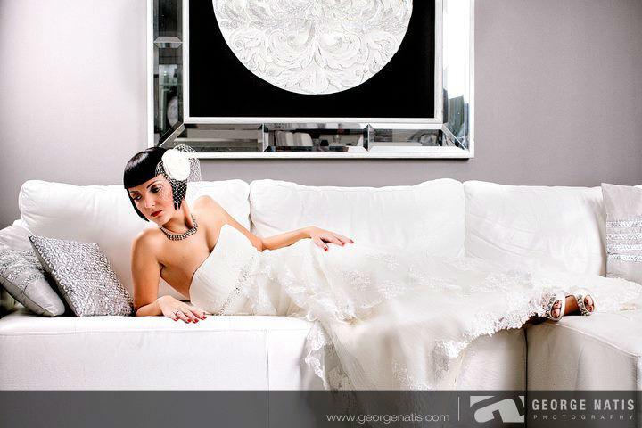 Beispiel: Portrait der Braut, Foto: George Natis Photography.