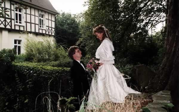Beispiel: Hochzeit auf dem Rittergut, Foto: Rittergut Haus Laer.