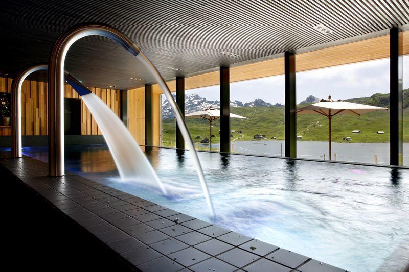 Beispiel: Spa- und Wellnessbereich, Foto: Hotel frutt LODGE & SPA.