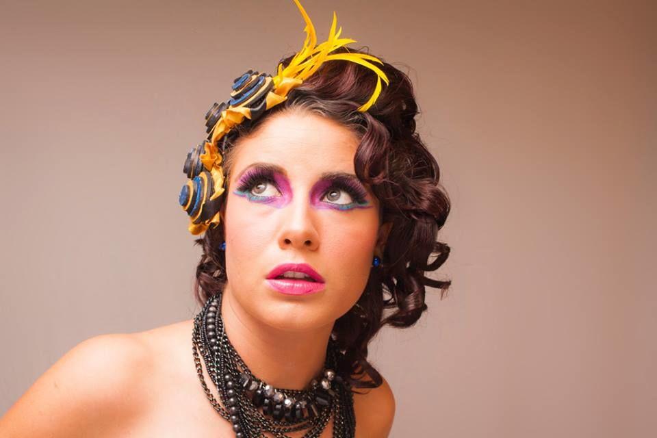 Maquillaje editorial, pasarelas, fantasía, etc...
