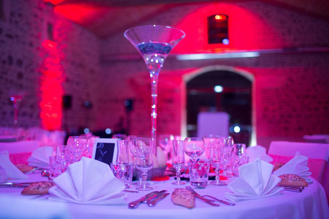 Malice & Déco - Vase Martini - Déco de Table - Chateau des Loges