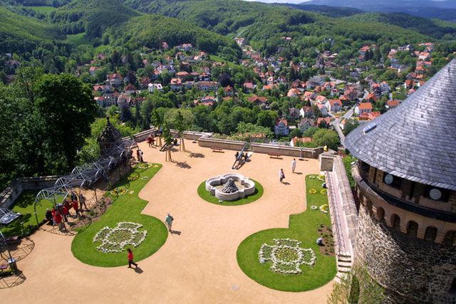 Beispiel: Schlosshof, Foto: Schloss Wernigrode.