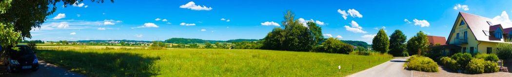 Beispiel: Panoramablick, Foto: Landgasthof Rücklenmühle.