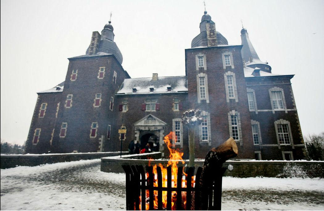 Middeleeuwse taferelen Kasteel Hoensbroek