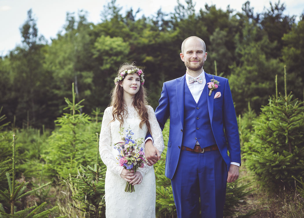 Woodland Wedding, East Sussex, Uk