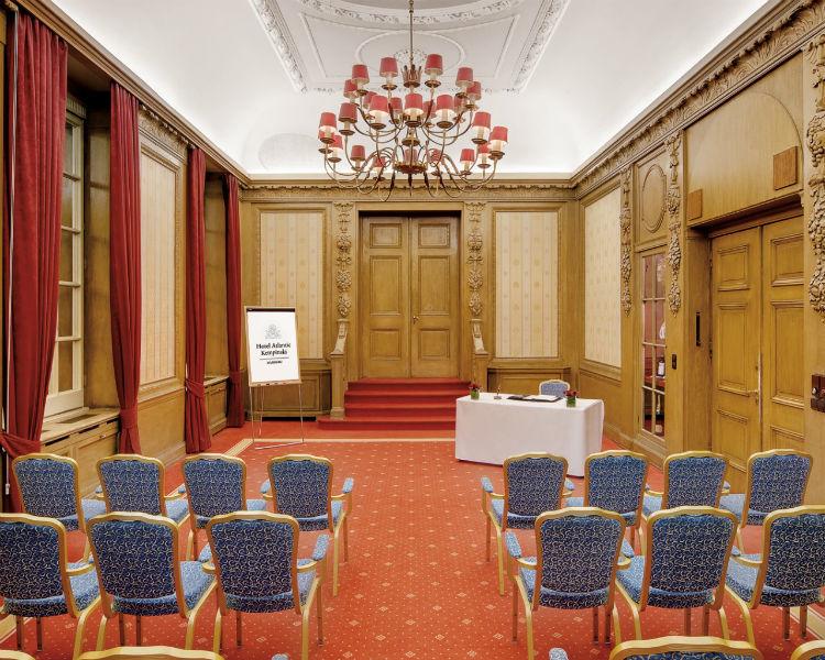 Beispiel: Senatszimmer, Foto: Hotel Atlantik Kempinski.