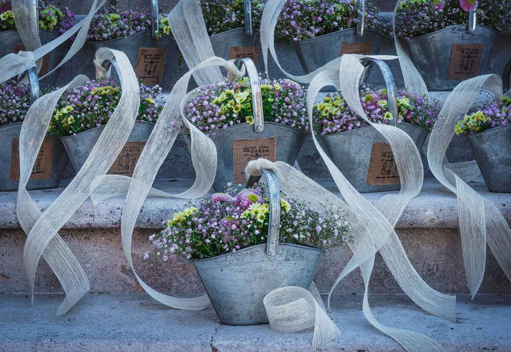 Cestillos para sillas de ceremonia