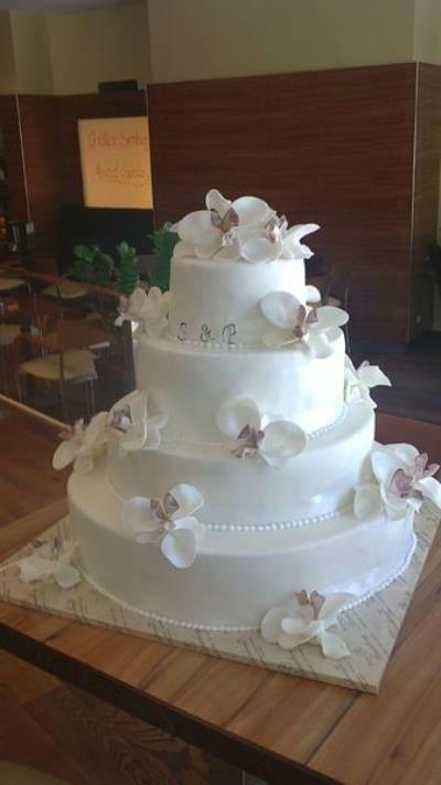 Beispiel: Zauberhafte Hochzeitstorten, Foto: Konditorei Rainberg.