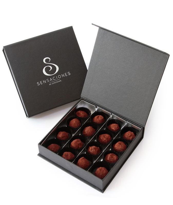 Trufas de chocolate puro