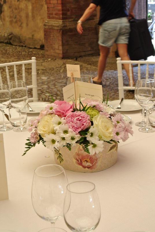 Shabby chic wedding - Tavolo ospiti