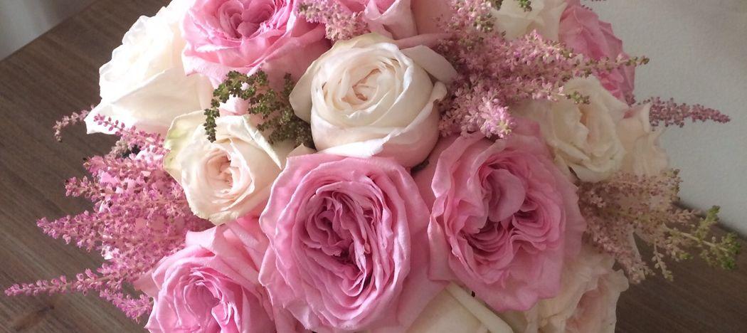 Rosa Inglesa en Les flors de Nuria