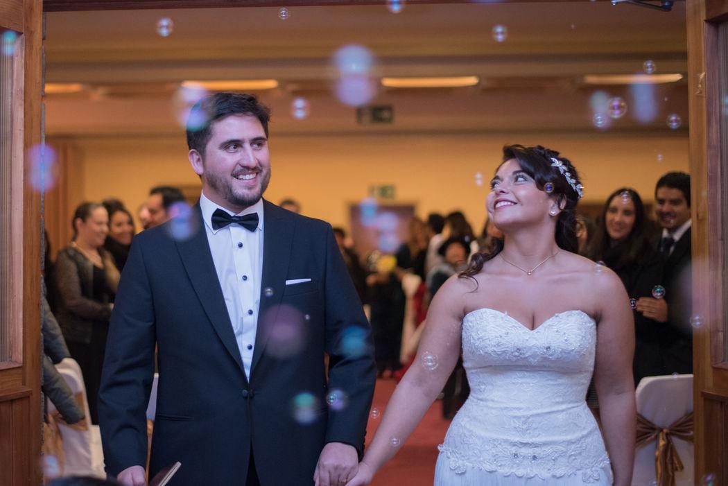 Daniela y Carlos Quillón