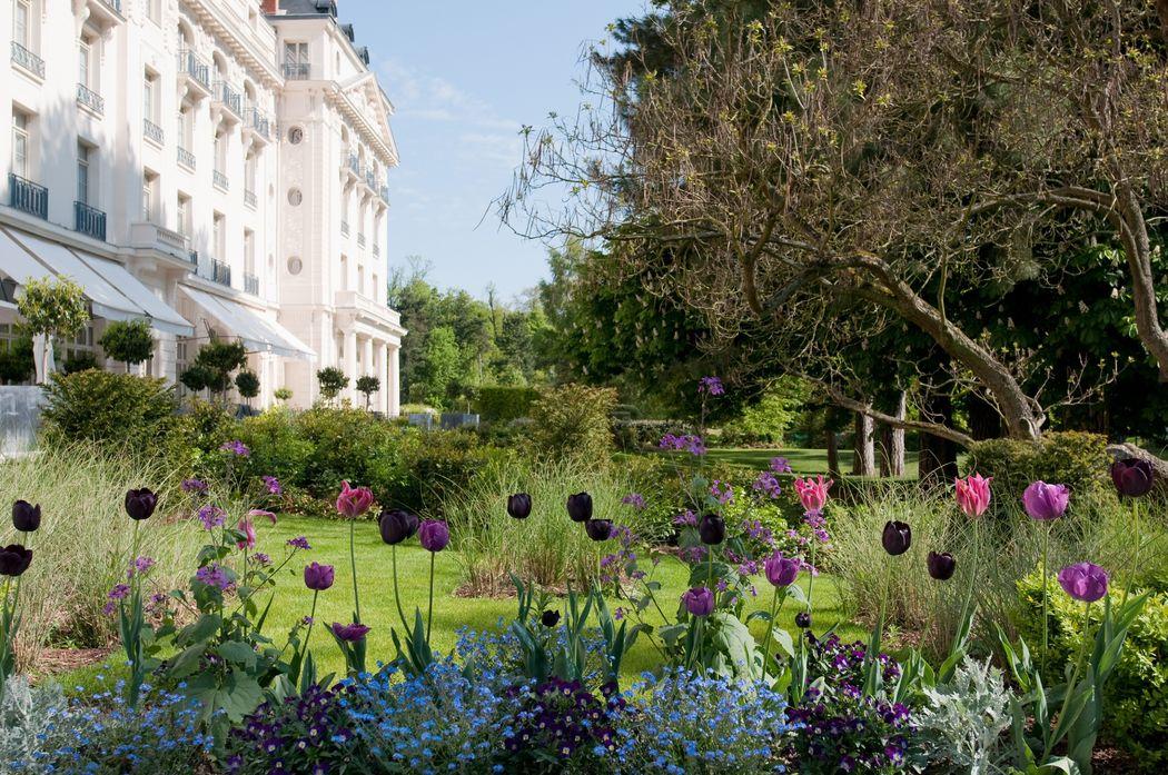 Jardins du Trianon Palace Versailles