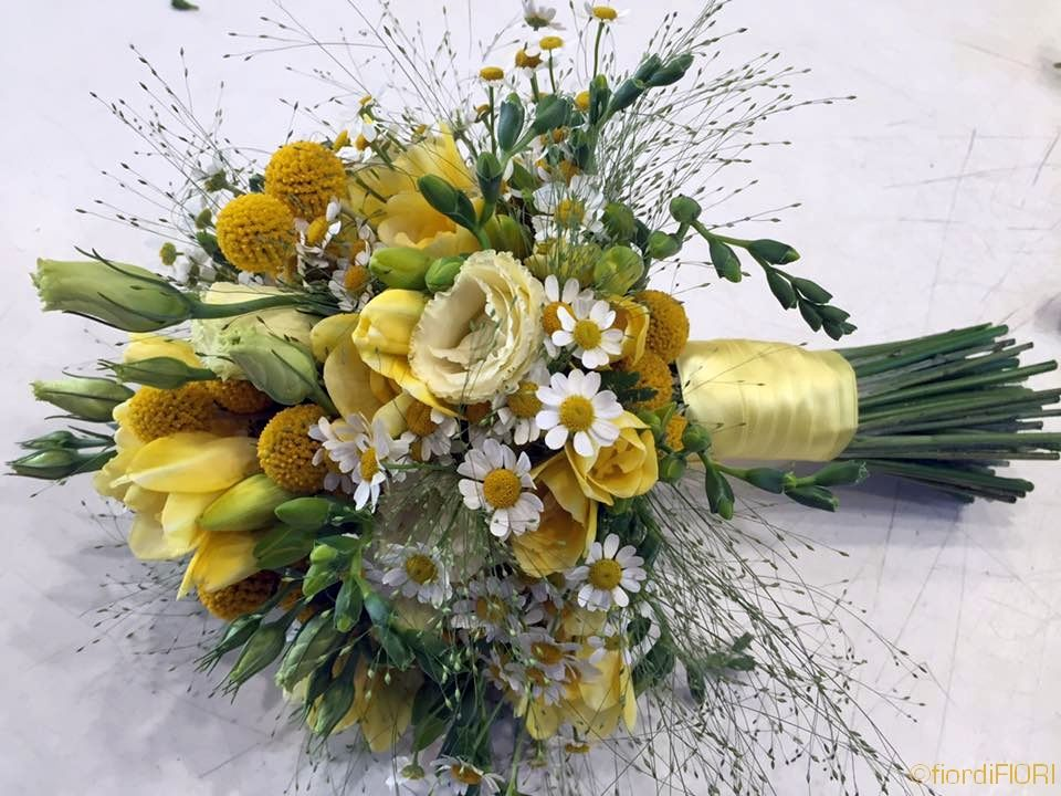 Bouquet in giallo